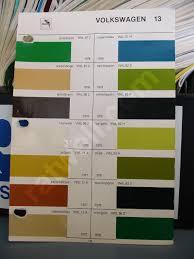 glasurit paint chips