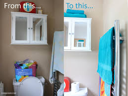 bathroom tidy ideas a bathroom makeover on a budget