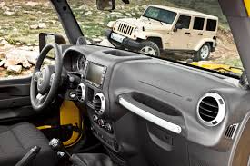 jeep rubicon inside 2011 jeep wrangler gets new interior autotribute