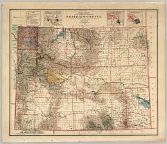 Wy Map Wyoming Places Goshen County