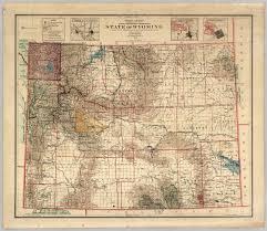 Sheridan Wyoming Map Detailed Political Map Of Wyoming Ezilon Maps Blm Wyoming