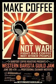Coffee War make coffee not war coffee drinker