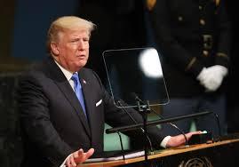 Trump Home Address by In Un Speech Trump Threatens To U0027totally Destroy North Korea