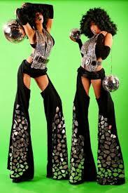 Stilt Costumes Halloween Cut Edge Stilt Walkers 戲偶 Stilt