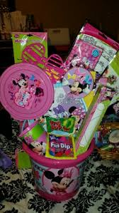 minnie mouse easter baskets minnie mouse easter basket my crafts easter