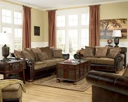 Leather Cloth Sofa Leather And Fabric Sofa In Same Room Mix Mixing Chair Material