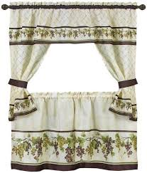 Tuscany Kitchen Curtains by Best 25 Kitchen Curtain Sets Ideas Only On Pinterest Curtain