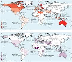 global burden of hiv viral hepatitis and tuberculosis in