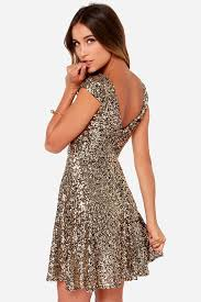 new years dresses gold livin the gleam gold sequin dress sparkle faves