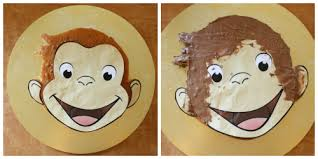 curious george cake curious george party curious