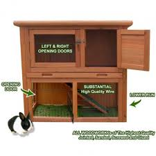 Rabbit And Guinea Pig Hutches Rabbit Guinea Pig Hutch House Inthemarket