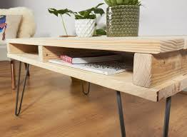 Hairpin Legs Coffee Table Hairpin Leg Coffee Table Pallet Beblincanto Tables Hairpin Leg