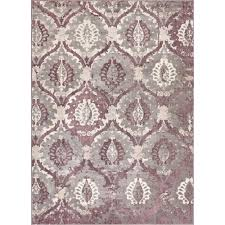 Lavender Area Rugs Well Woven Pearl Felize Lavender 7 Ft 10 In X 9 Ft 10 In