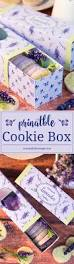 lavender cookies and printable sleeve gift box country hill cottage