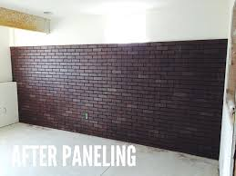 faux brick panel bru2 great installation white panels lowes