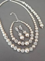 white pearl necklace designs images Pearl jewelry set best 25 pearl jewelry set ideas jpg