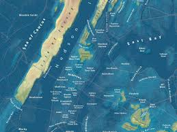 Realistic Map Of The World by Jeffrey Linn U0027s Maps Of Underwater La Nyc Business Insider