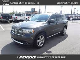 2013 used dodge durango 2wd 4dr sxt at landers ford serving little