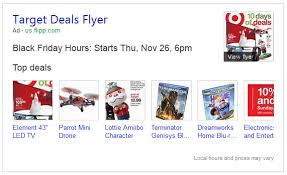 target black friday element bing ads launches new black friday flyer ads in search results