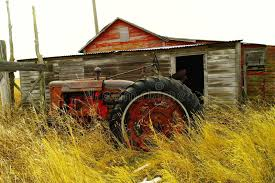 Tractor Barn Old Barn And Tractor Stock Photo Image 48456945