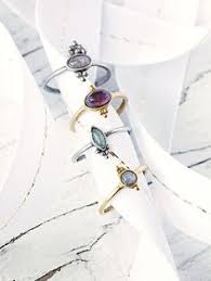 friendship rings meaning dainty personalized rings initial ring silver and gold plated