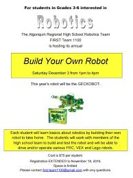 build your own robots u2014 crafthubs