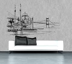 original design wallpaper nonwoven fabric sketch non woven