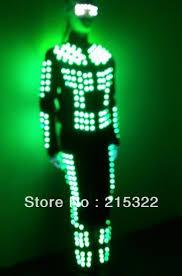 Led Light Halloween Costume David Guetta Led Light Costume Led Robot Costume Cosplay Light