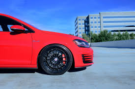 black volkswagen gti volkswagen golf gti with hre rs103 in satin black hre