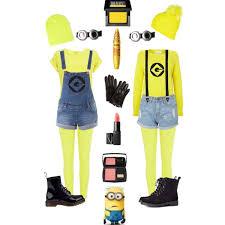 Minion Halloween Costumes Girls Costumesuspenders Suspenderstore Blog