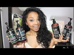 black label hair product line review renpure multiethnic haircare line youtube