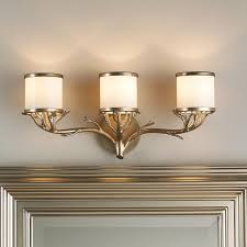 Best Great Looks For The Bath Images On Pinterest Bathroom - Bathroom vanity light with shades