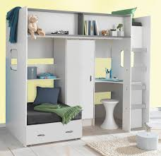 High Sleeper With Futon And Desk Innovative High Sleeper With Futon And Desk Childrens And
