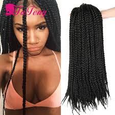 Braid Hair Extensions by Box Braids Hair Synthetic Hair Extensions Kanekalon Xpression