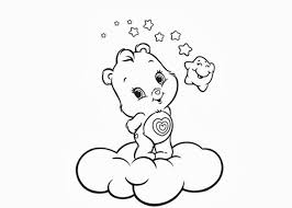 baby care bear coloring free coloring pages coloring
