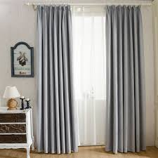 bedroom stylish dark grey blackout curtain fir curtains ideas
