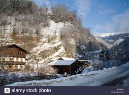 rauris austria eu january typical austrian alpine style chalet