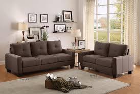 Sofas And Loveseats Amazon Com Homelegance 8518 2 Upholstered Loveseat Brownish Grey