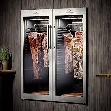 chambre froide chasse fleisch reifeschrank ager dx 1000 in der wand restaurant