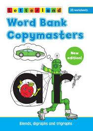 Letterland Worksheets Word Bank Copymasters By Letterland Issuu
