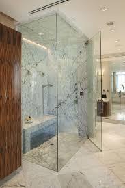 carrera marble convention phoenix contemporary bathroom decorating
