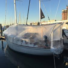 we live aboard a boat during the winter with snow ice and no