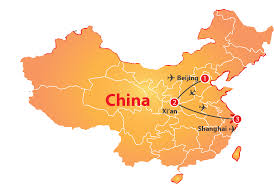 Xi An China Map by China Golden Triangle 10 Days U2013 Nexus Holidays
