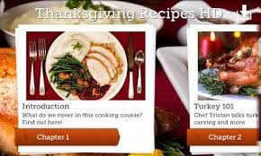 best thanksgiving apps for android and ios