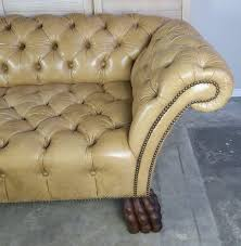 Custom Chesterfield Sofa Custom Chesterfield Tufted Leather Sofa By Levinson