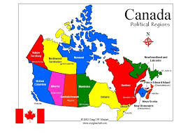 Canada Province Map Show Map Of Canada Canada Map