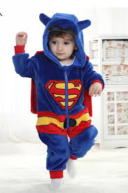 Superman Halloween Costume Toddler Superman Kigurumi Baby Halloween Costumes 4kigurumi