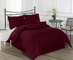 Bedroom Linens And Curtains Bedding Attractive Burgundy Bedding Sets Homezanin Queen 7 Piece