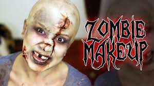halloween zombie makeup ideas zombie makeup women makeup on pinterest face off syfy face off and