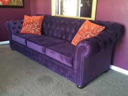 Purple Sofa Bed Purple Sofa No Way Or Yes